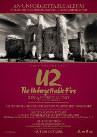 Cover U2 - The Unforgettable Fire (25th Anniversary Edition)
