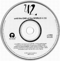 Cover U2 - Until The End Of The World