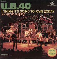 Cover UB40 - I Think It's Going To Rain Today