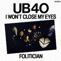 Cover UB40 - I Won't Close My Eyes