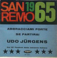 Cover Udo Jürgens - Abbracciami forte