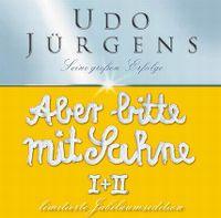 Cover Udo Jürgens - Aber bitte mit Sahne I + II