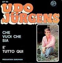Cover Udo Jürgens - E' tutto qui