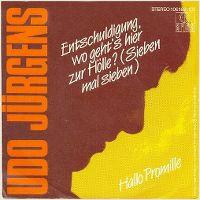 Cover Udo Jürgens - Entschuldigung, wo geht's hier zur Hölle? (Sieben mal sieben)