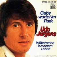 Cover Udo Jürgens - Gaby wartet im Park