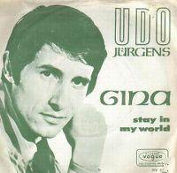 Cover Udo Jürgens - Gina