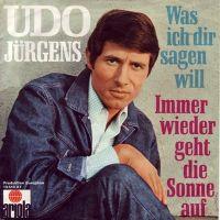 Cover Udo Jürgens - Immer wieder geht die Sonne auf