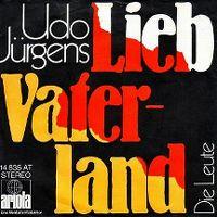 Cover Udo Jürgens - Lieb Vaterland