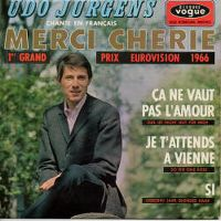Cover Udo Jürgens - Merci Cherie