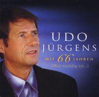 Cover Udo Jürgens - Mit 66 Jahren (was wichtig ist...)