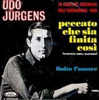 Cover Udo Jürgens - Peccato che sia finita così