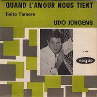 Cover Udo Jürgens - Quand l'amour nous tient