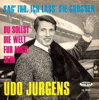 Cover Udo Jürgens - Sag' ihr, ich laß' sie grüssen