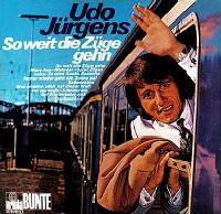 Cover Udo Jürgens - So weit die Züge gehn