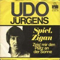 Cover Udo Jürgens - Spiel, Zigan