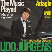 Cover Udo Jürgens - The Music Played