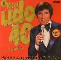 Cover Udo Jürgens - Udo 40 - seine 40 größten Erfolge