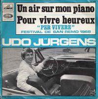 Cover Udo Jürgens - Un air sur mon piano