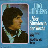 Cover Udo Jürgens - Vier Stunden in der Woche