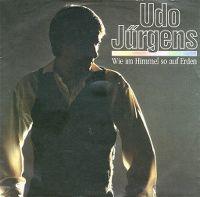 Cover Udo Jürgens - Wie im Himmel so auf Erden