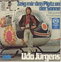 Cover Udo Jürgens - Zeig mir den Platz an der Sonne