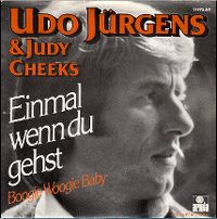 Cover Udo Jürgens & Judy Cheeks - Einmal wenn Du gehst
