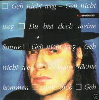 Cover Udo Lindenberg - Geh nicht weg