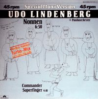 Cover Udo Lindenberg + Panikorchester - Nonnen