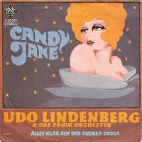 Cover Udo Lindenberg & das Panik-Orchester - Candy Jane