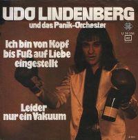 Cover Udo Lindenberg & das Panik-Orchester - Ich bin von Kopf bis Fuß auf Liebe eingestellt