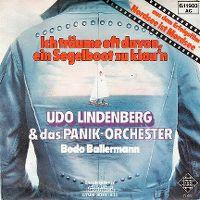 Cover Udo Lindenberg & das Panik-Orchester - Ich träume oft davon, ein Segelboot zu klau'n