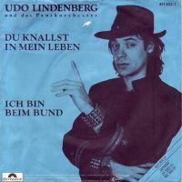 Cover Udo Lindenberg und das Panikorchester - Du knallst in mein Leben