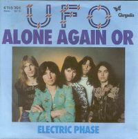 Cover UFO - Alone Again Or