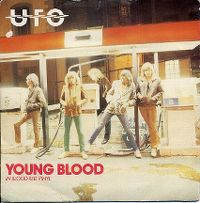 Cover UFO - Young Blood
