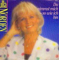 Cover Ulla Norden - Du nimmst mich so, wie ich bin