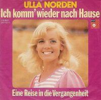 Cover Ulla Norden - Ich komm' wieder nach Hause