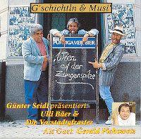 Cover Ulli Bäer & die Vorstadtgfraster - Wien auf der Zungenspitze