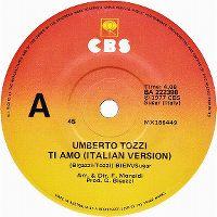 Cover Umberto Tozzi - Ti amo