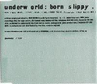 Cover Underworld - Born Slippy