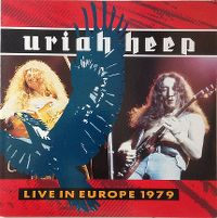 Cover Uriah Heep - Live In Europe 1979
