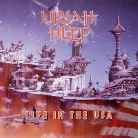 Cover Uriah Heep - Live In The USA