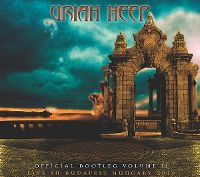 Cover Uriah Heep - Official Bootleg Volume II: Live In Budapest Hungary 2010