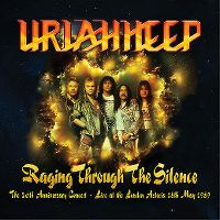 Cover Uriah Heep - Raging Through The Silence
