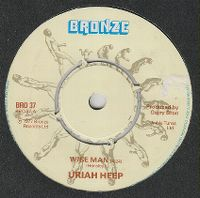 Cover Uriah Heep - Wise Man