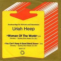 Cover Uriah Heep - Woman Of The World