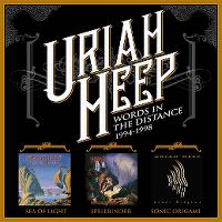 Cover Uriah Heep - Words In The Distance 1994-1998