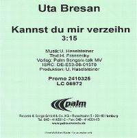 Cover Uta Bresan - Kannst Du mir verzeih'n