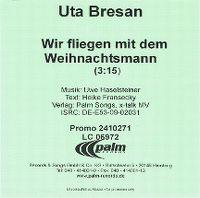 Cover Uta Bresan - Wir fliegen mit dem Weihnachtsmann