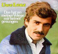 Cover Uwe Lenz - Das hat an meiner Wiege mir keiner gesungen