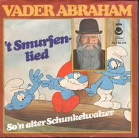 Cover Vader Abraham - 't Smurfenlied